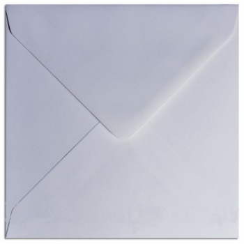 White Greeting Card Envelopes 130mm x 130mm square 100gsm